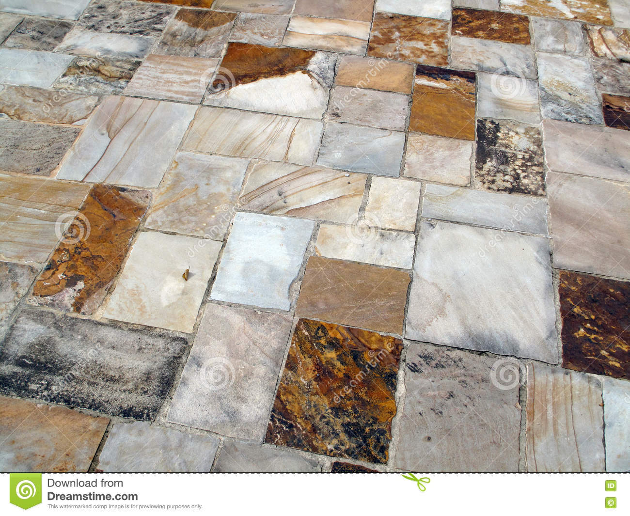 Download Stone Patio Stock Image. Image Of Contrast, Grout, Builders    76216091