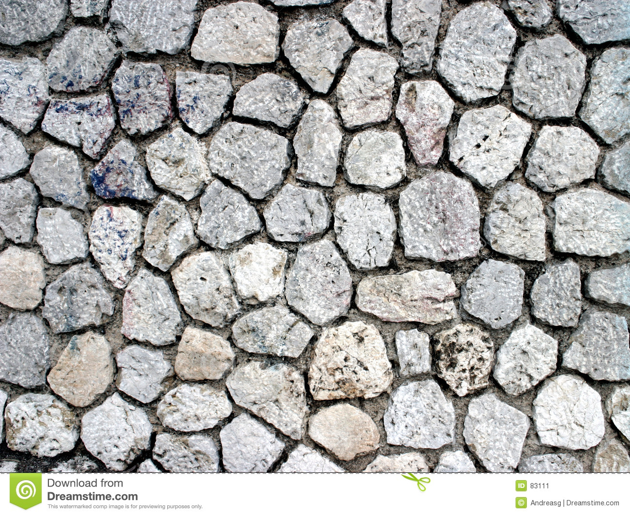 Stone Wall Pattern : Stone pattern stock image of background irregular