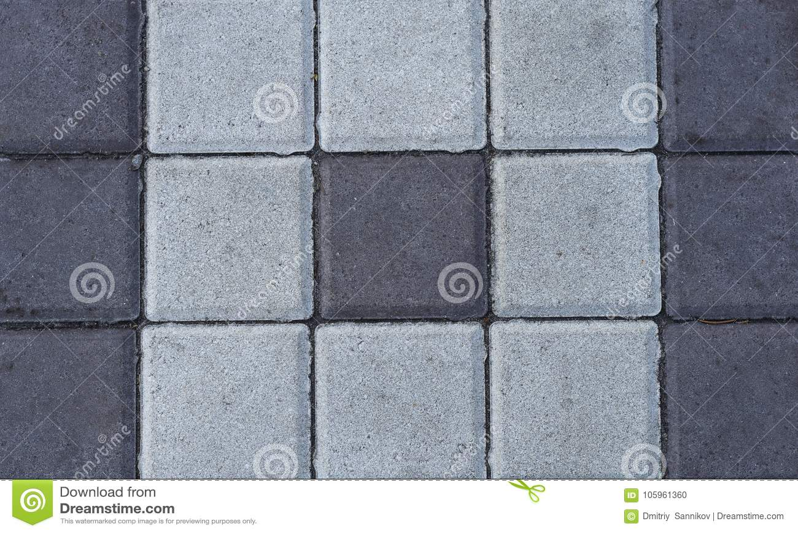 Stone paving tiles stock photo. Image of background - 105961360
