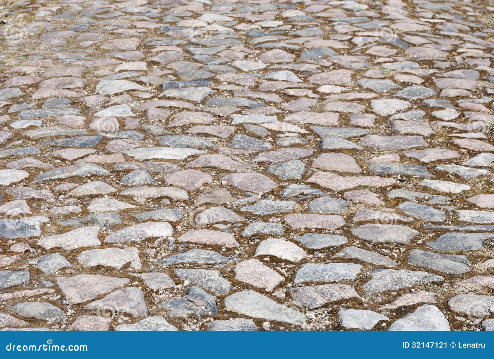 Stone Road Texture Stock Image Image 32147121