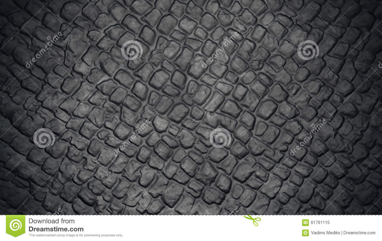 Stone Road Texture Stock Illustration - Image: 61761115