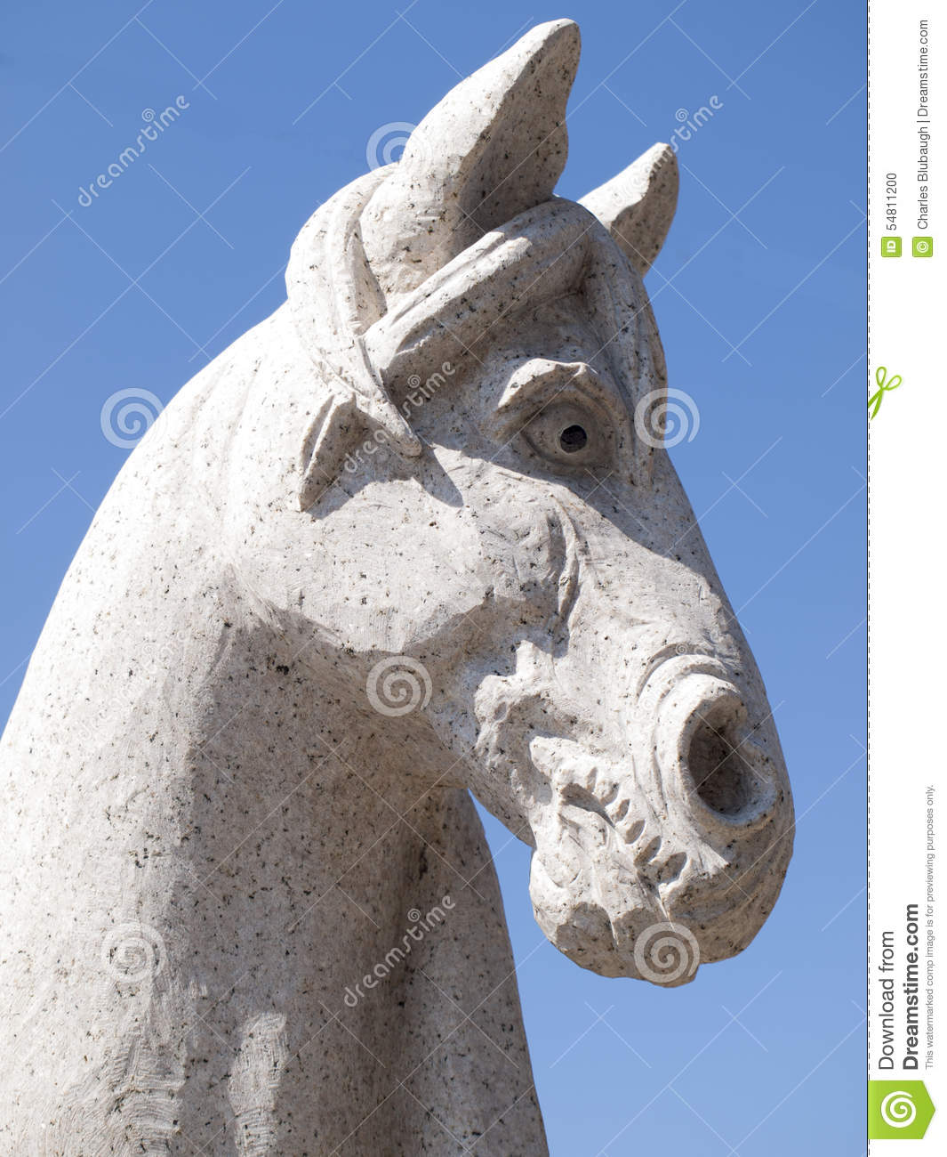 Stone horse chariot of the sun temple royalty free stock