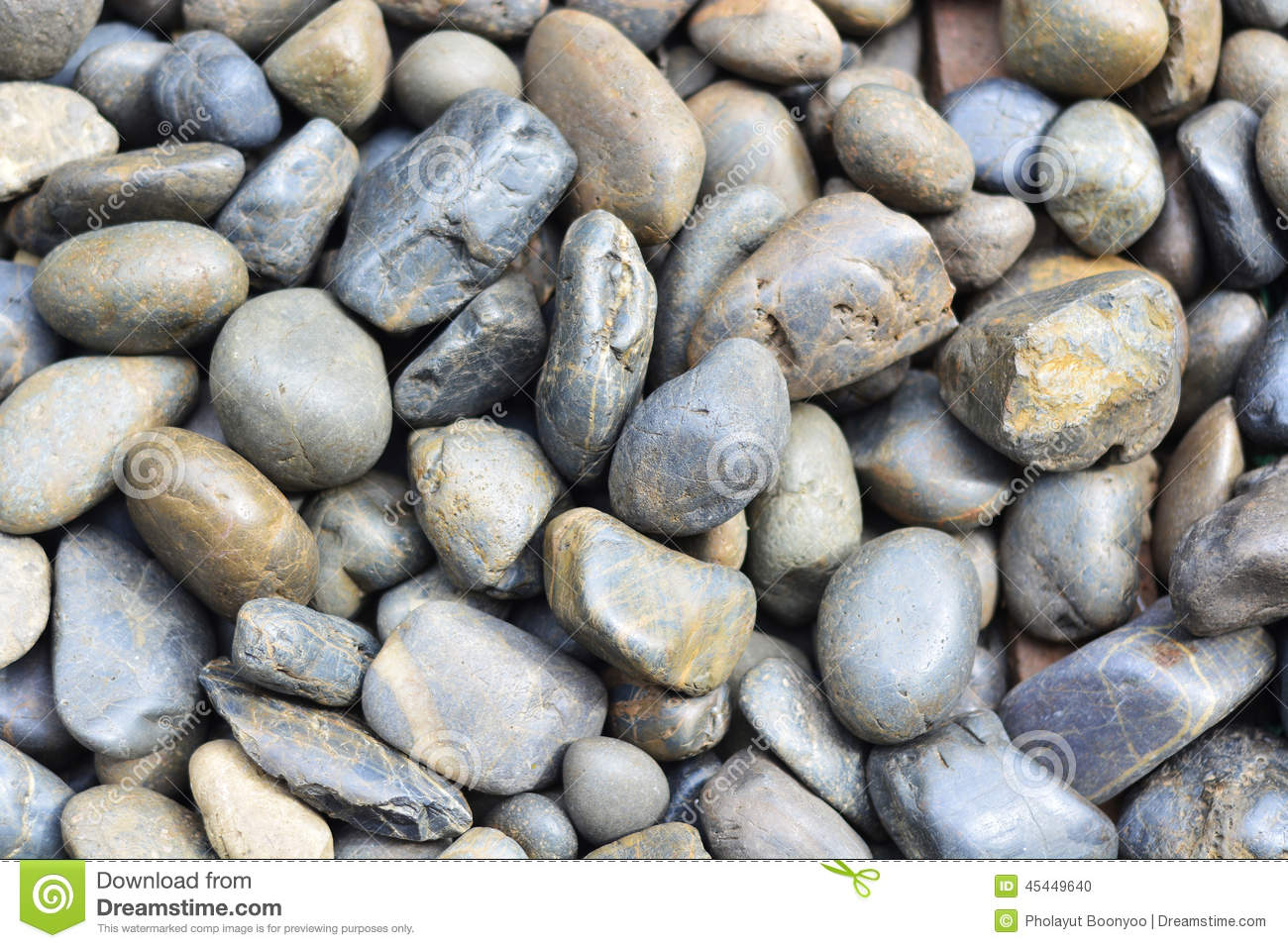 Stone2 stock photo image of black rounded garden shape for Smooth river rocks for landscaping