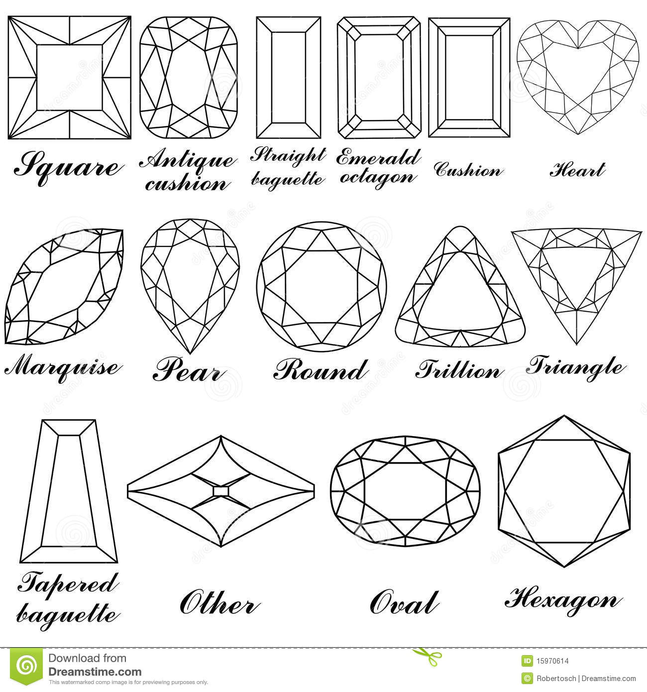 Worksheet Names In Shapes stone shapes and their names stock images image 15970614 names
