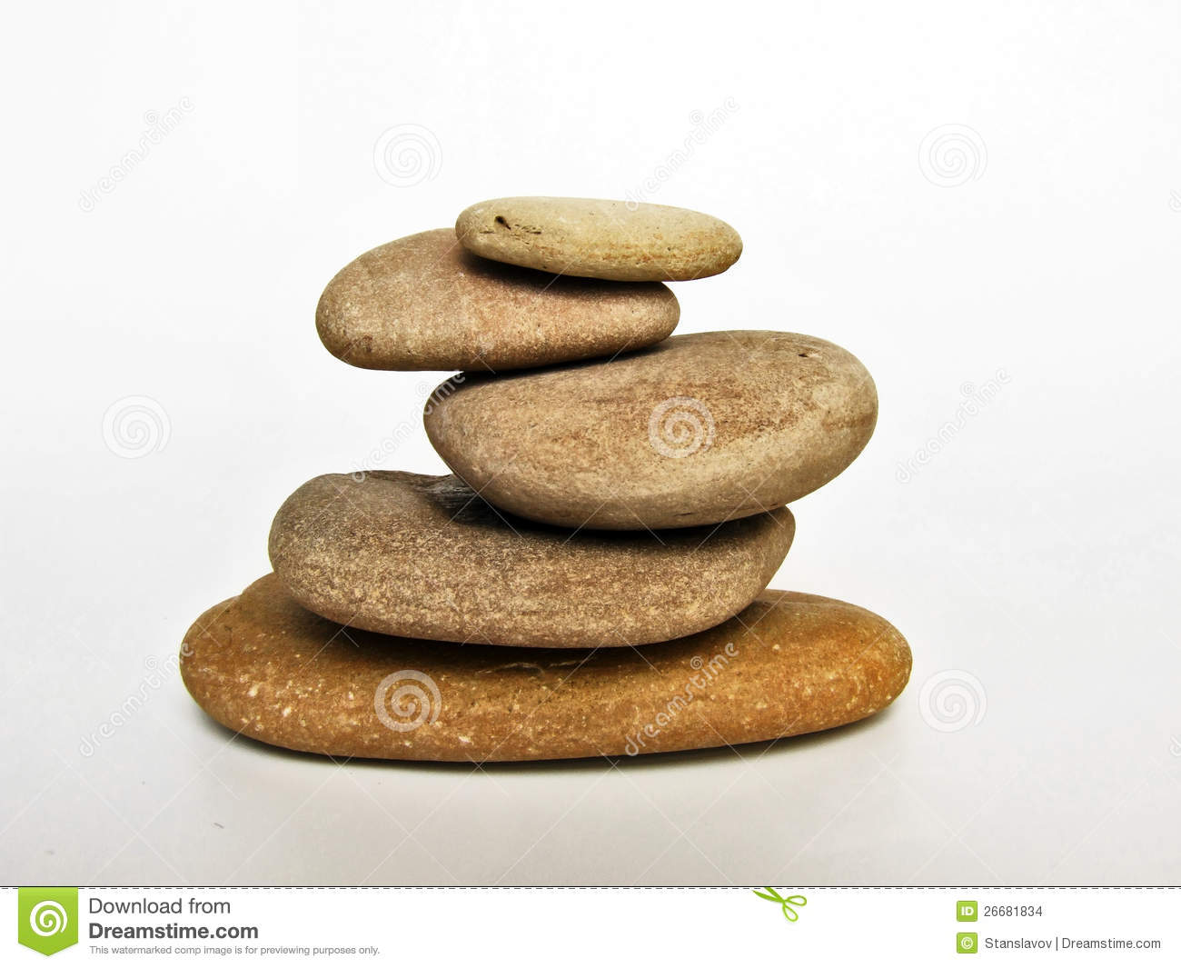 Stone Spa Relax Stock Image