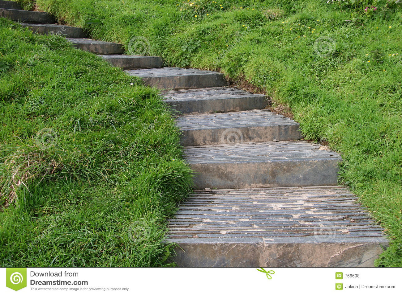 Stone stairs in the countryside royalty free stock photos - Scale in giardino ...