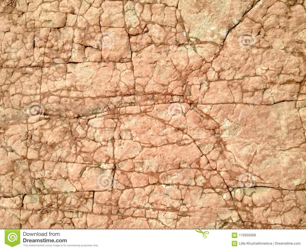 Brown Rocky Stone Textured Background Stock Photo - Image of ...