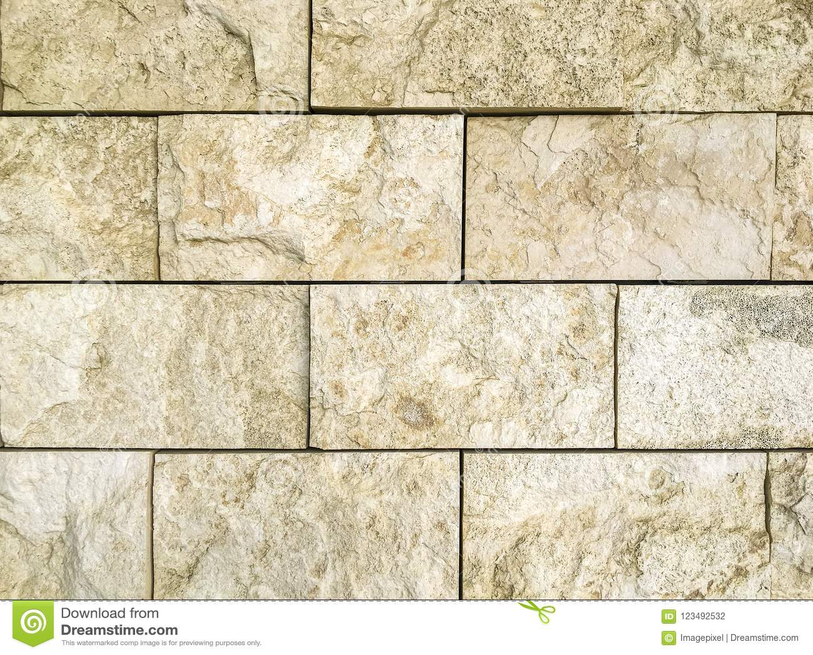 Download Rustic Travertine Stone Background Pattern Stock Photo