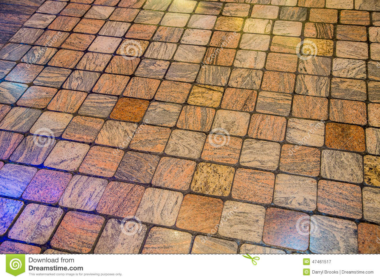 Stone Tile Floor Background Stock Image - Image of natural, tile ...