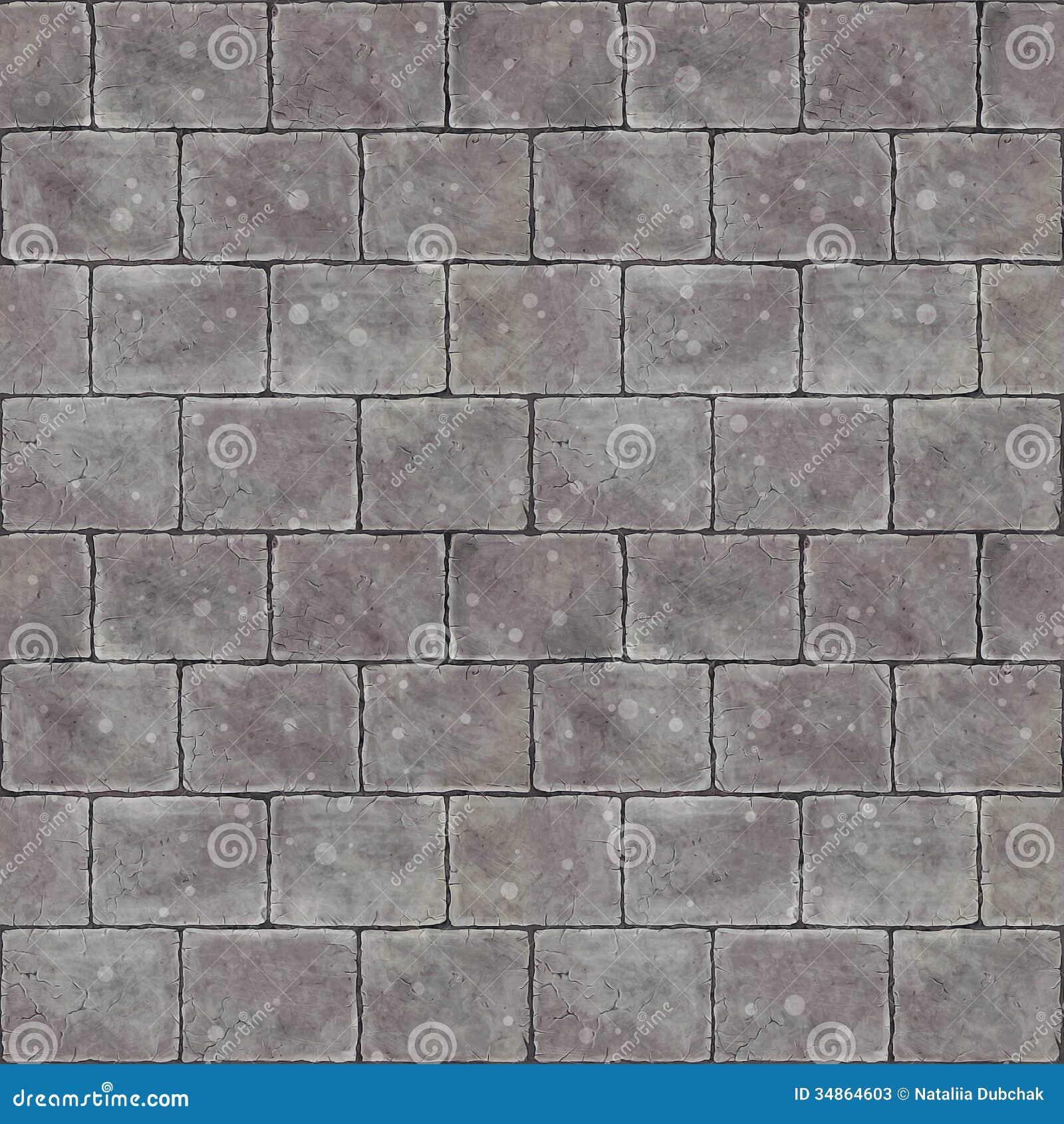 Stone Tile Seamless Background Stock Photos - Image: 34864603