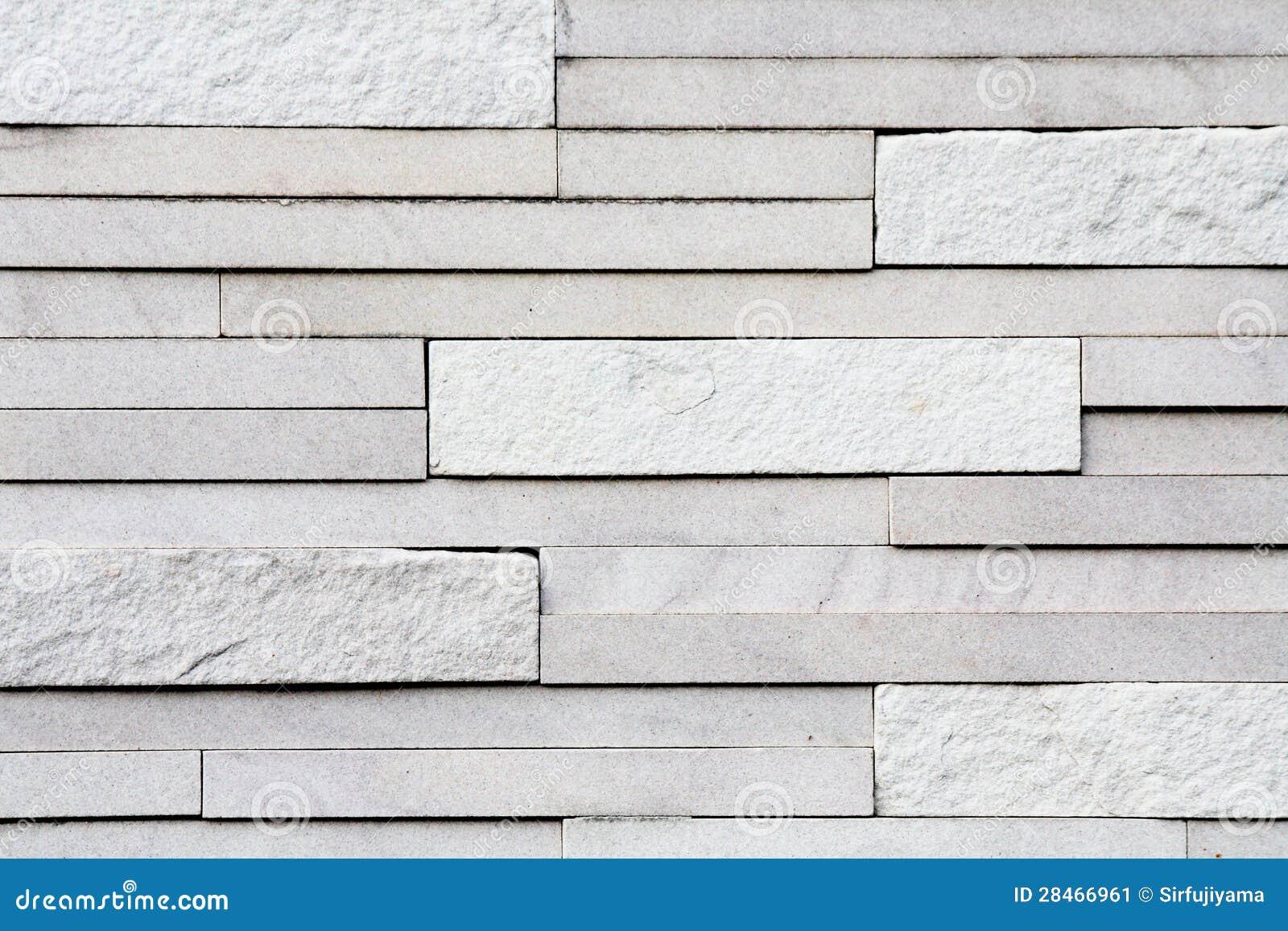 White Stone Tile Wall Texture