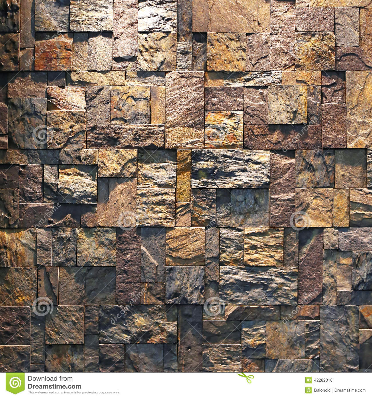 Stone Tile Wall Stock Photo Image Of Wall Tiles Stones