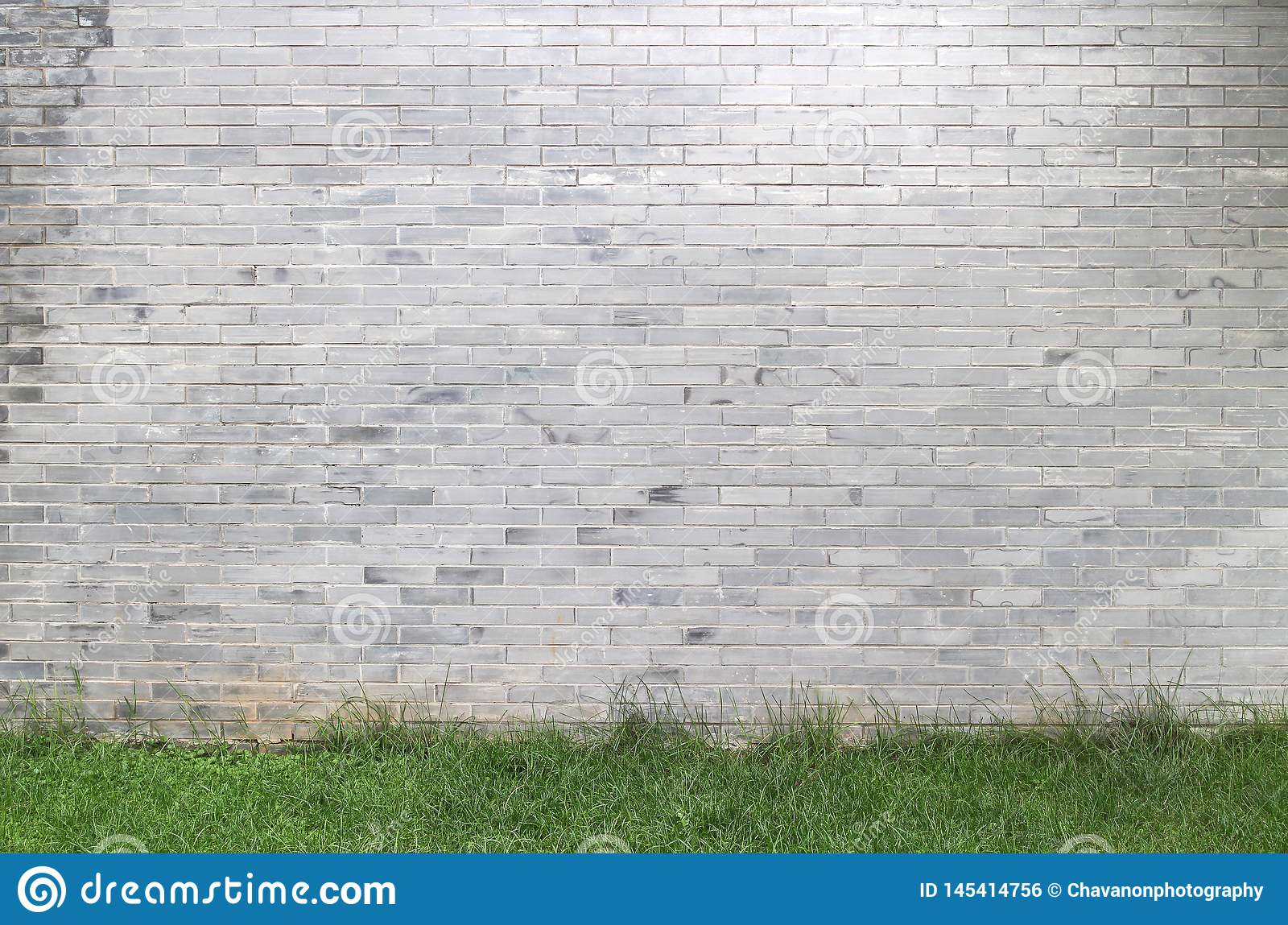 Stone tile wall texture, copy space