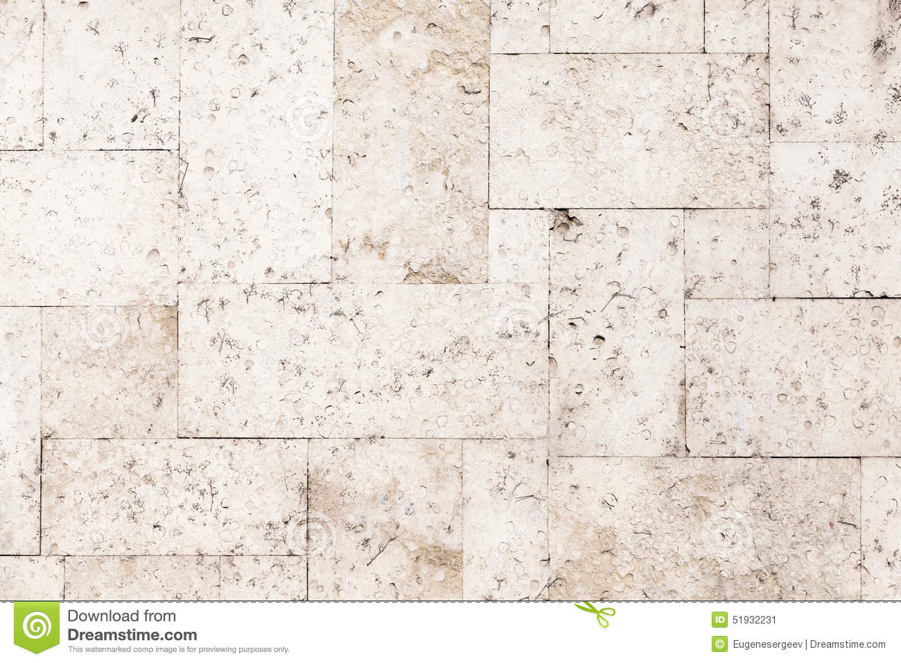 Stone tiling on the wall detailed background texture - Brique decorative blanche ...