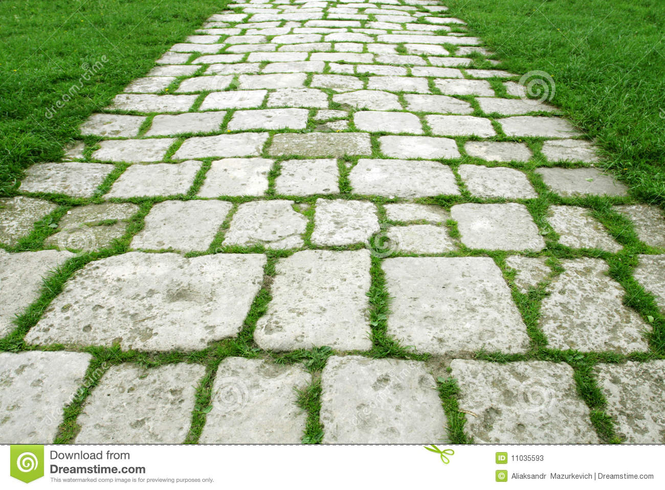 Stone walkway in garden royalty free stock photo image 34535795 - Stone Walkway Stock Photos Image 11035593