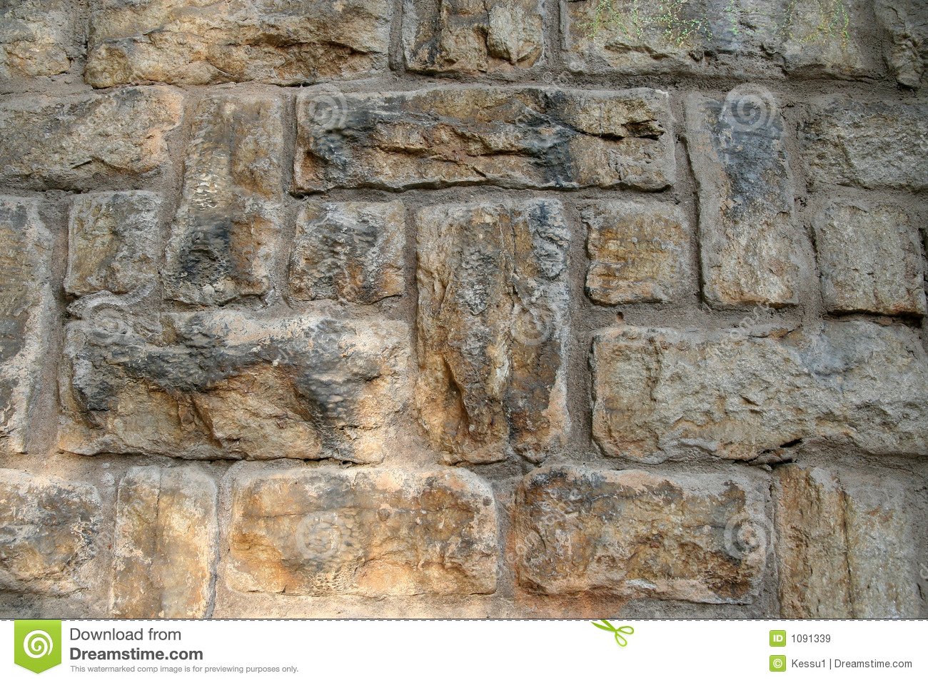 Stone Wall Royalty Free Stock Images Image 1091339