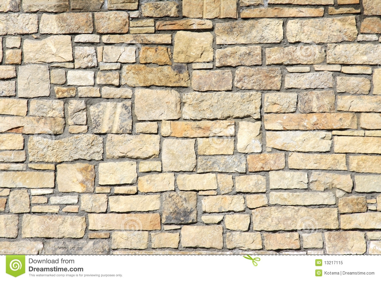 Seven Blocks Of Granite : Stone wall royalty free stock photo image