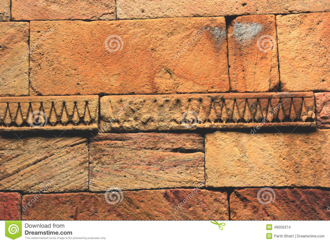 Stone wall carving stock photo image of ahmedabad travel