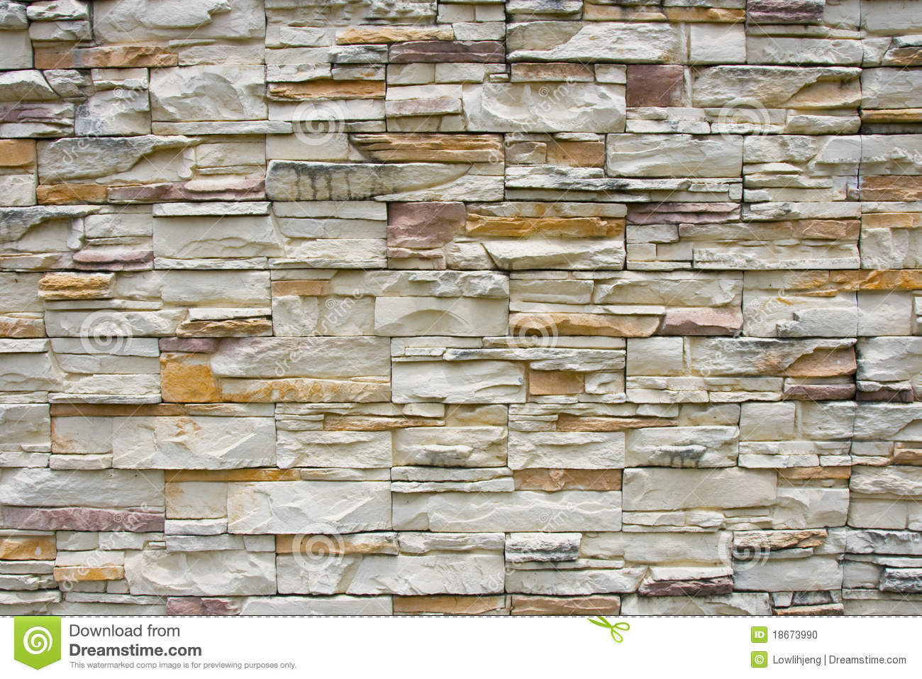 Stone Wall Cladding Stock Photo Image Of External