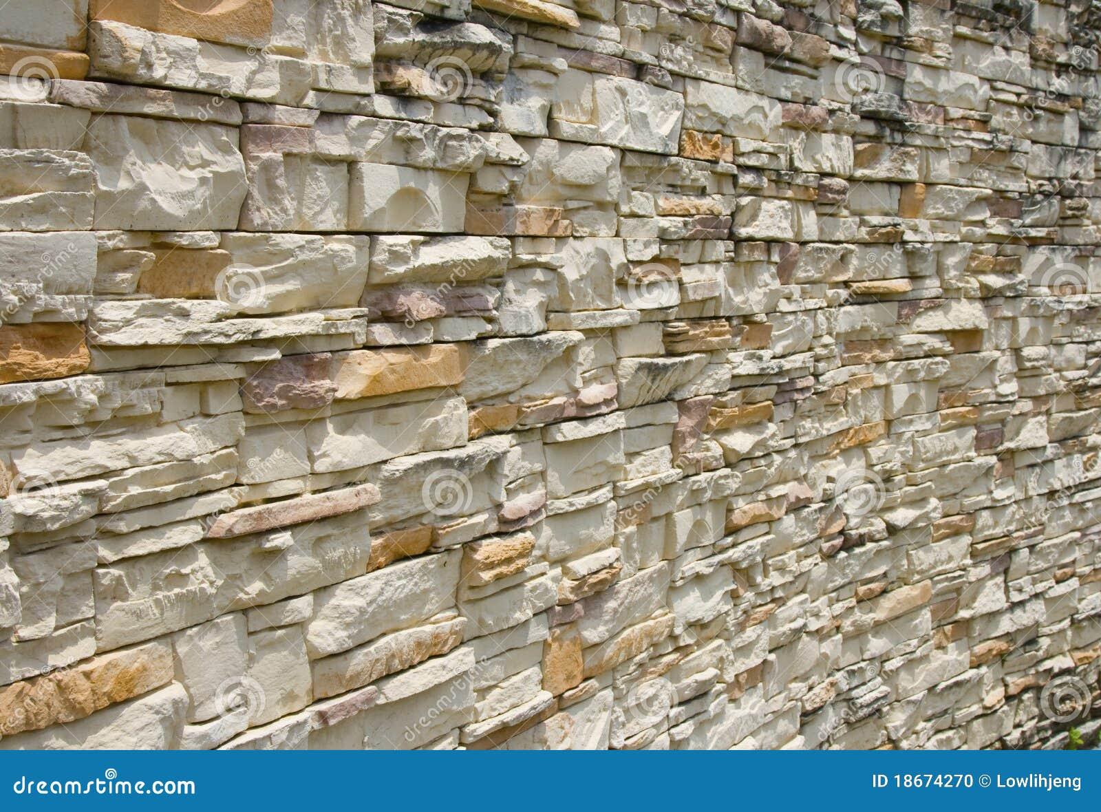Apartment bathroom themes - Stone Wall Cladding Stock Photo Image 18674270