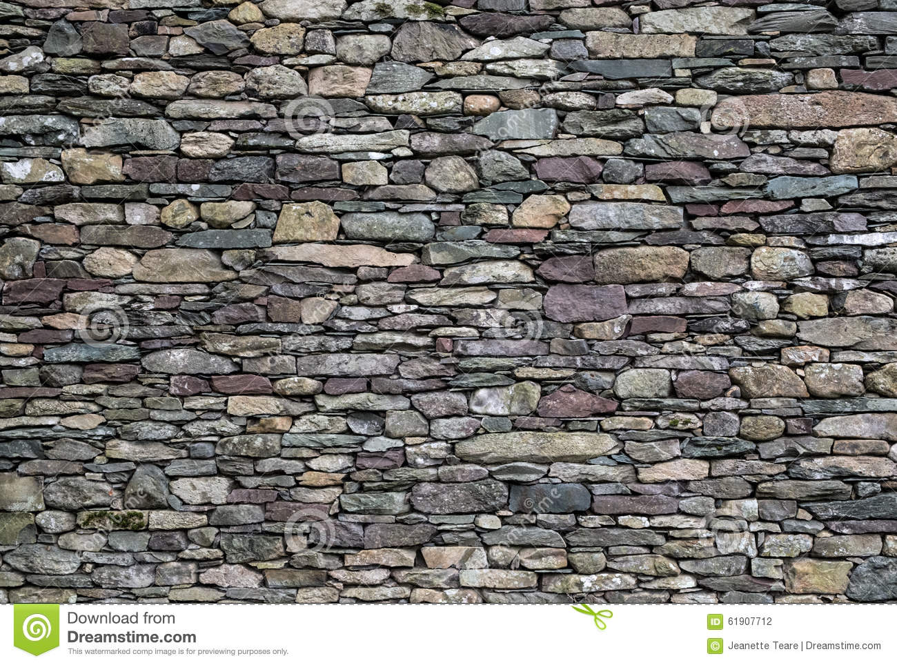 Stone wall of mixed slate stock photo image 61907712 for Time saver details for exterior wall design