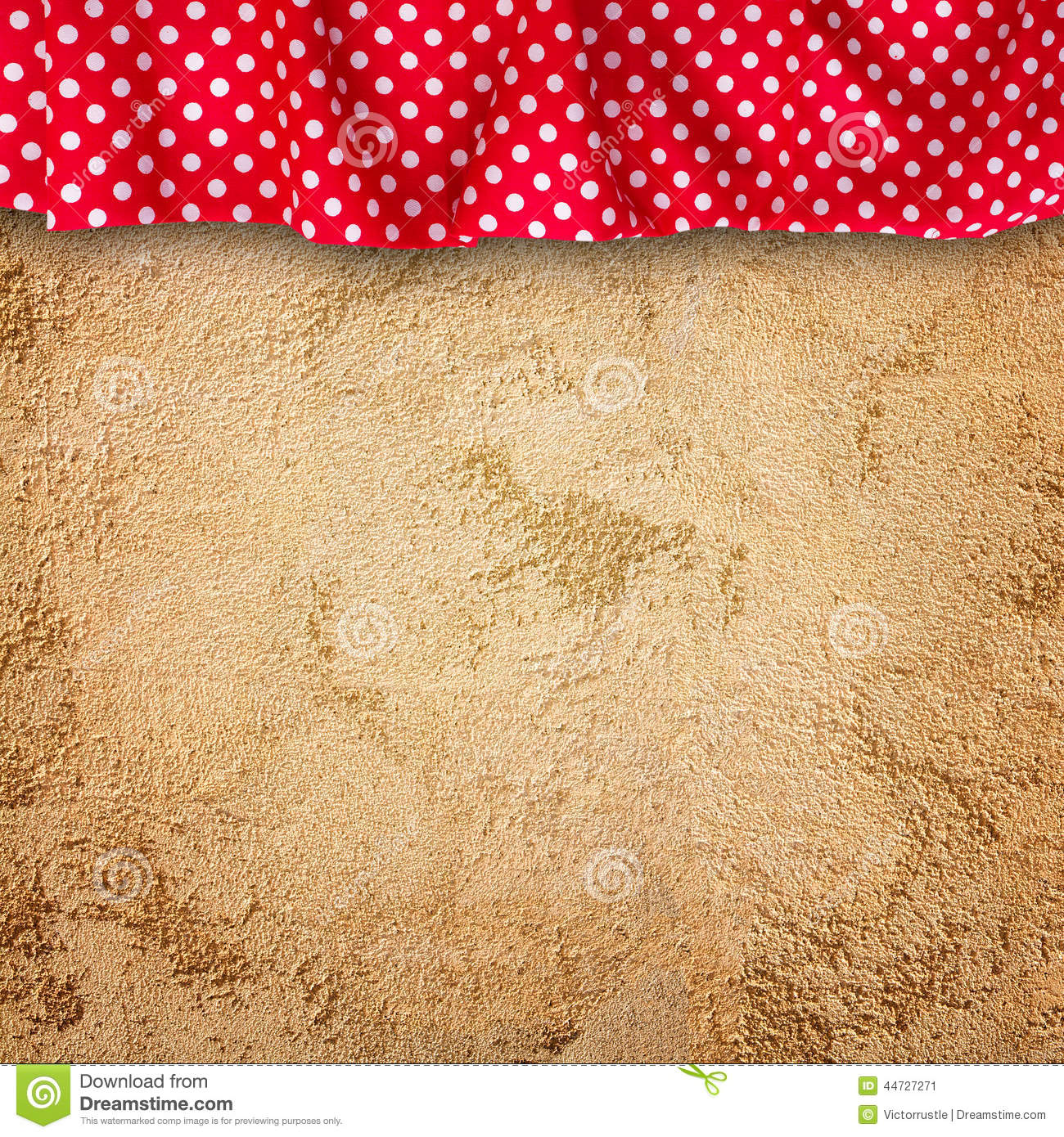 stone wall texture with cloth stock photo image 44727271