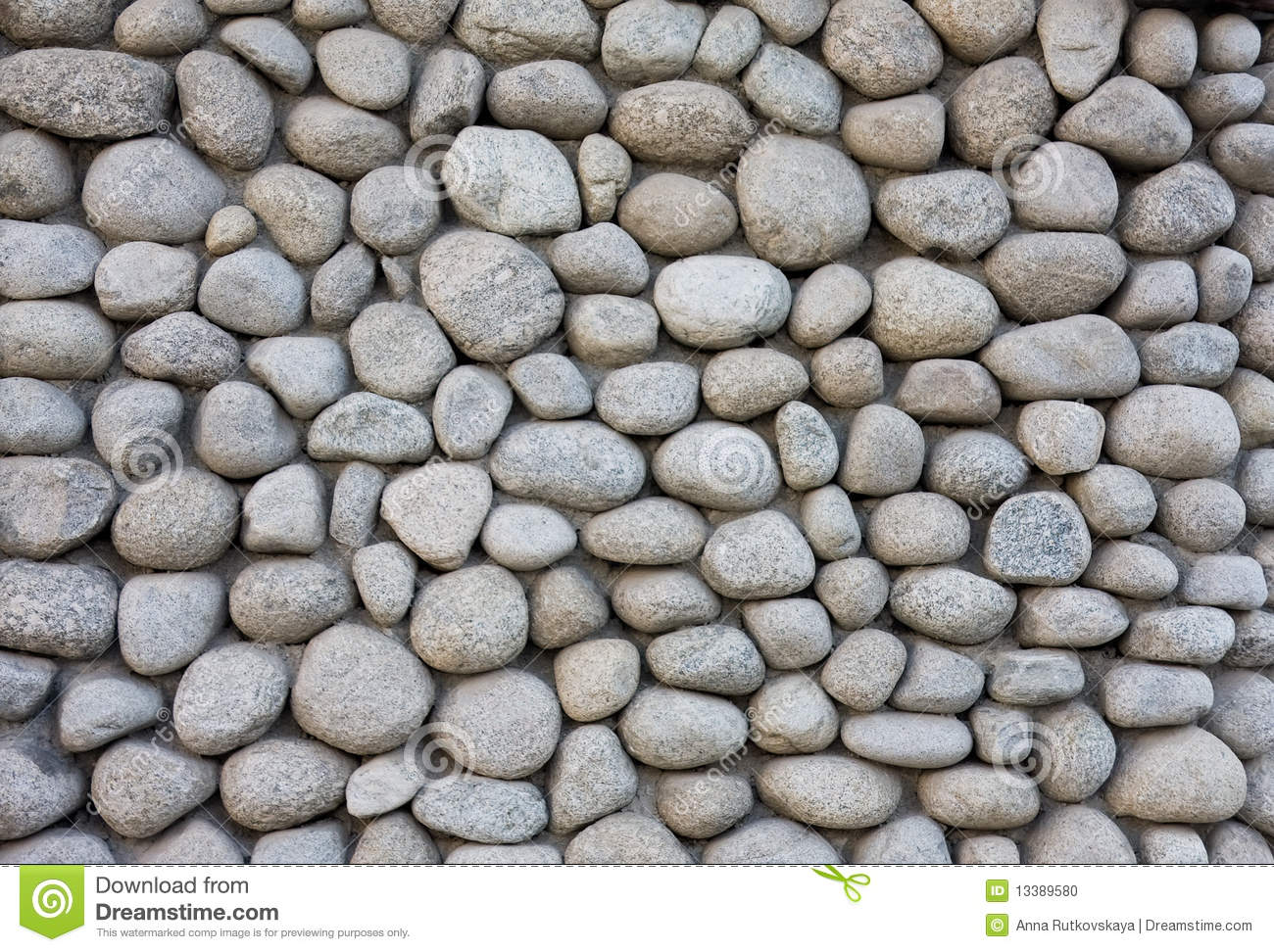 Stone Wall Texture From River Stock Photo Image 13389580