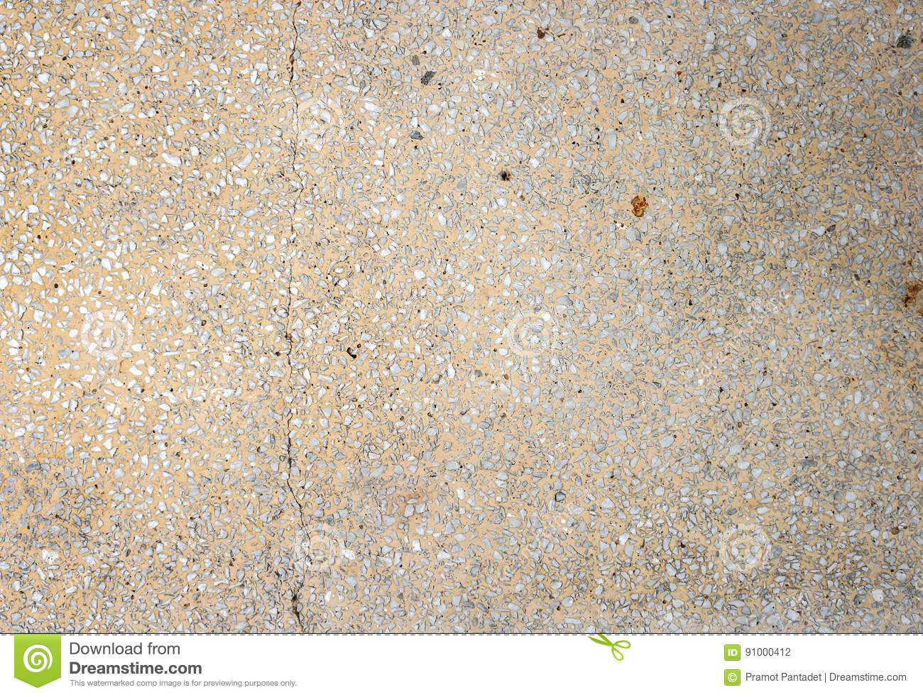 Stone Wall Texture Terrazzo Floor Background Stock Photo