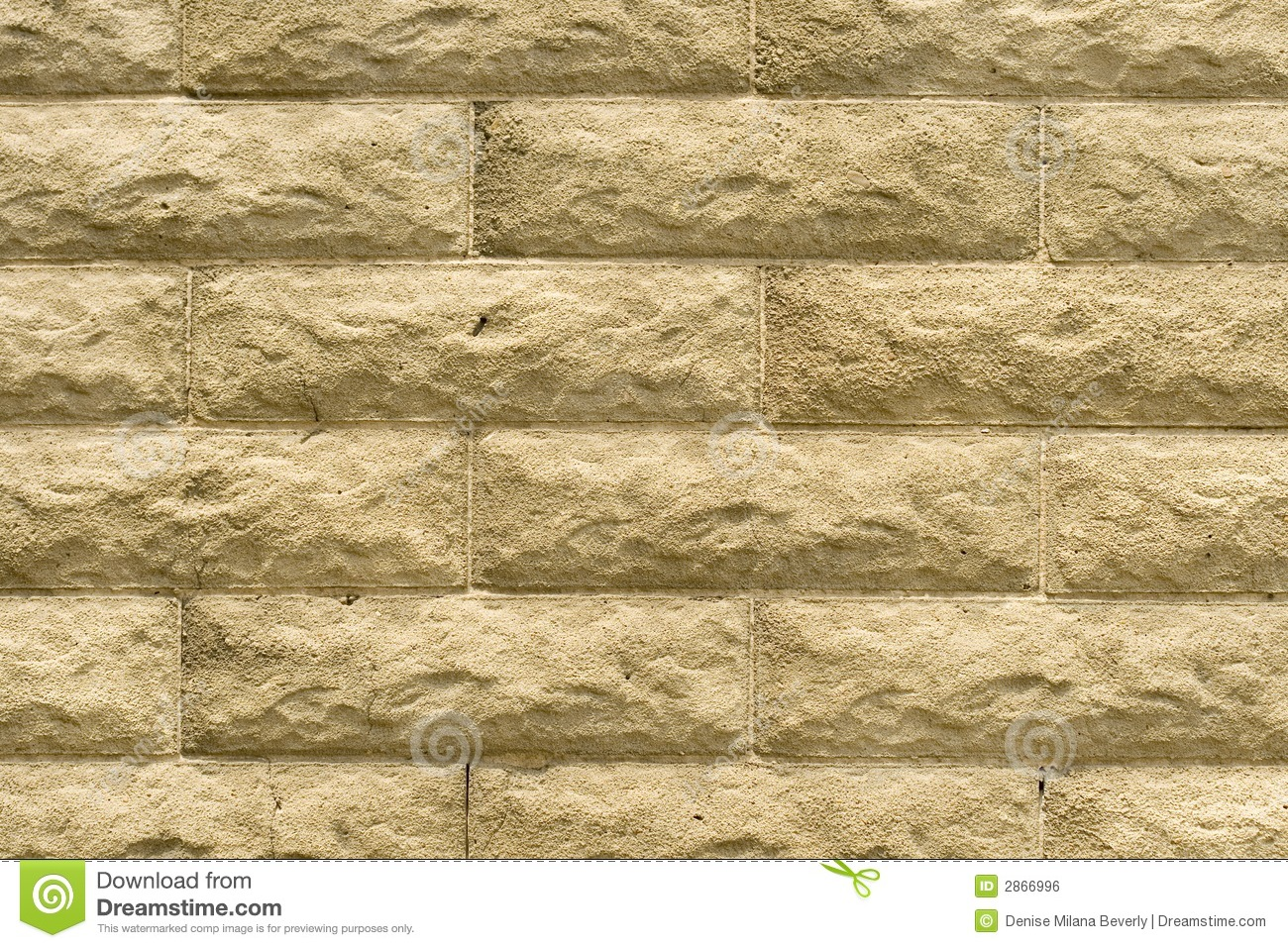 Stone Wall In Textured Blocks Stock Photo Image Of Rough