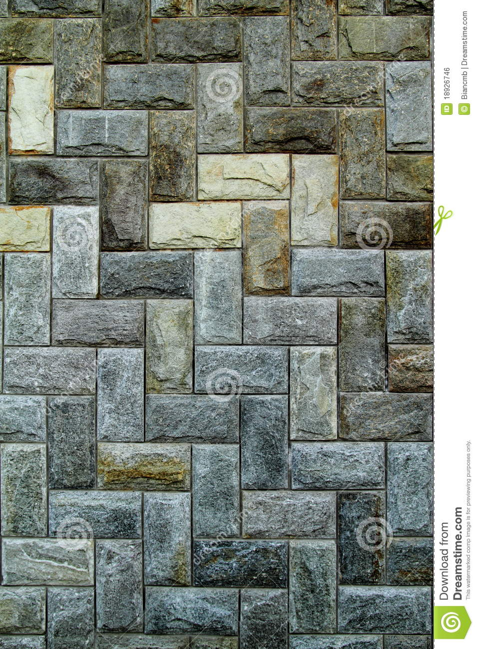 Stone Wall Pattern : Stone wall tile pattern stock photo image of concrete