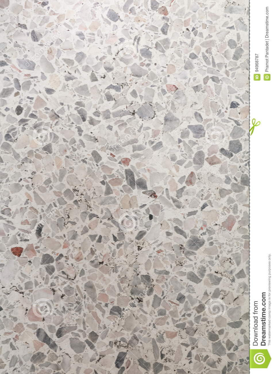 Stone Wash Terrazzo Floor Marble Surface For Background