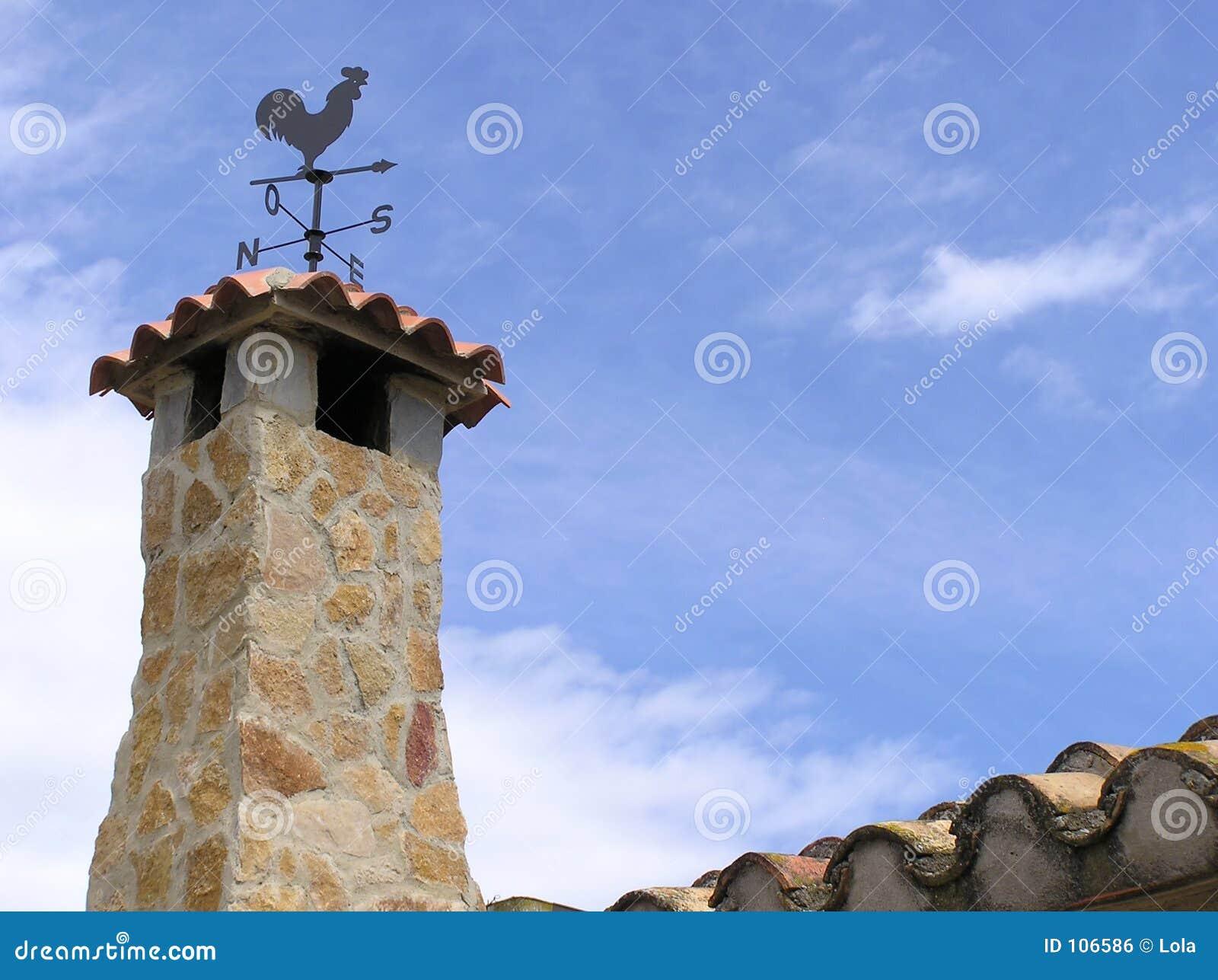 Stoned chimney
