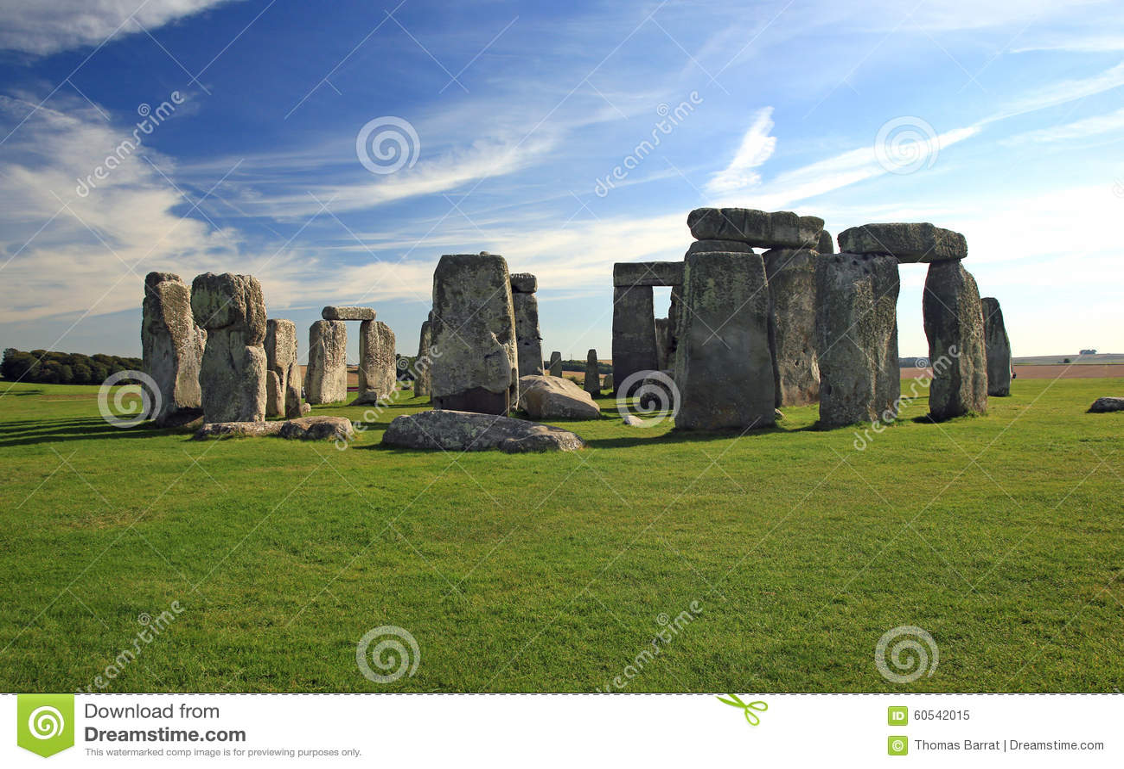 Stonehenge Англии