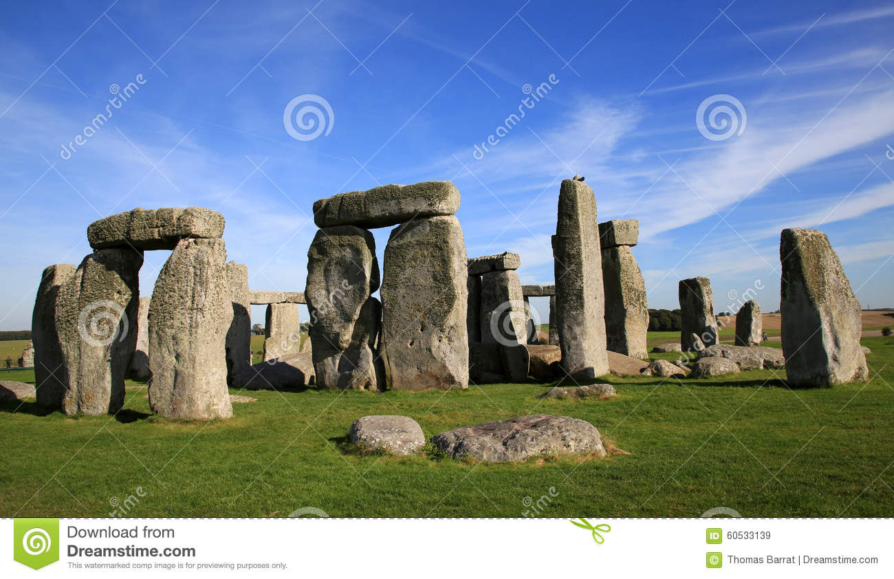 Stone United Kingdom  City new picture : The ancient stone circle, Stonehenge, England, in the United Kingdom ...