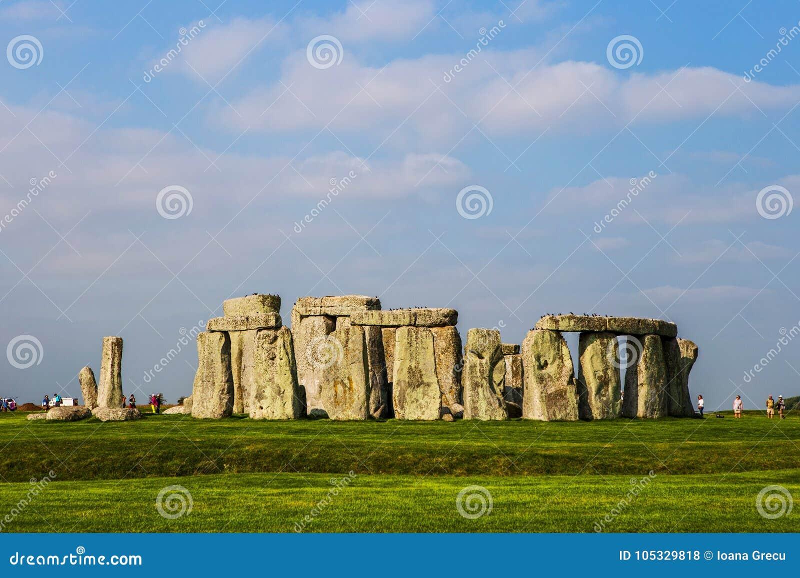 Stonehenge monument at Salisbury planes