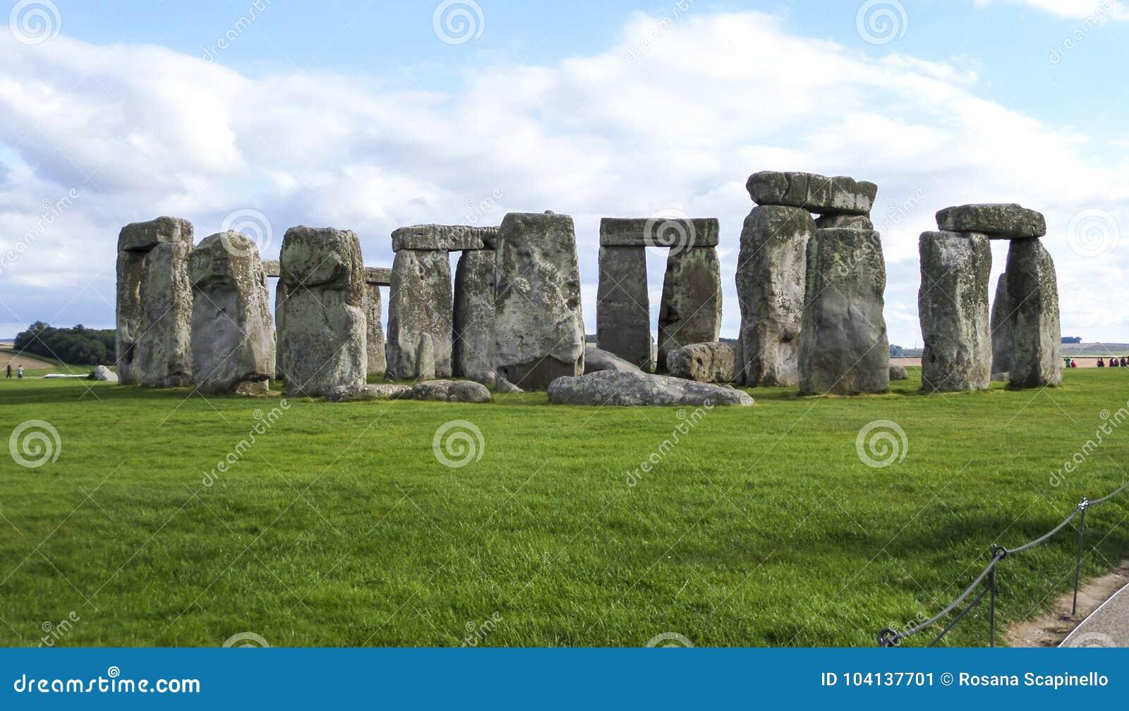 Stonehenge voorhistorisch monument in Wiltshire, Salisbury, Engeland