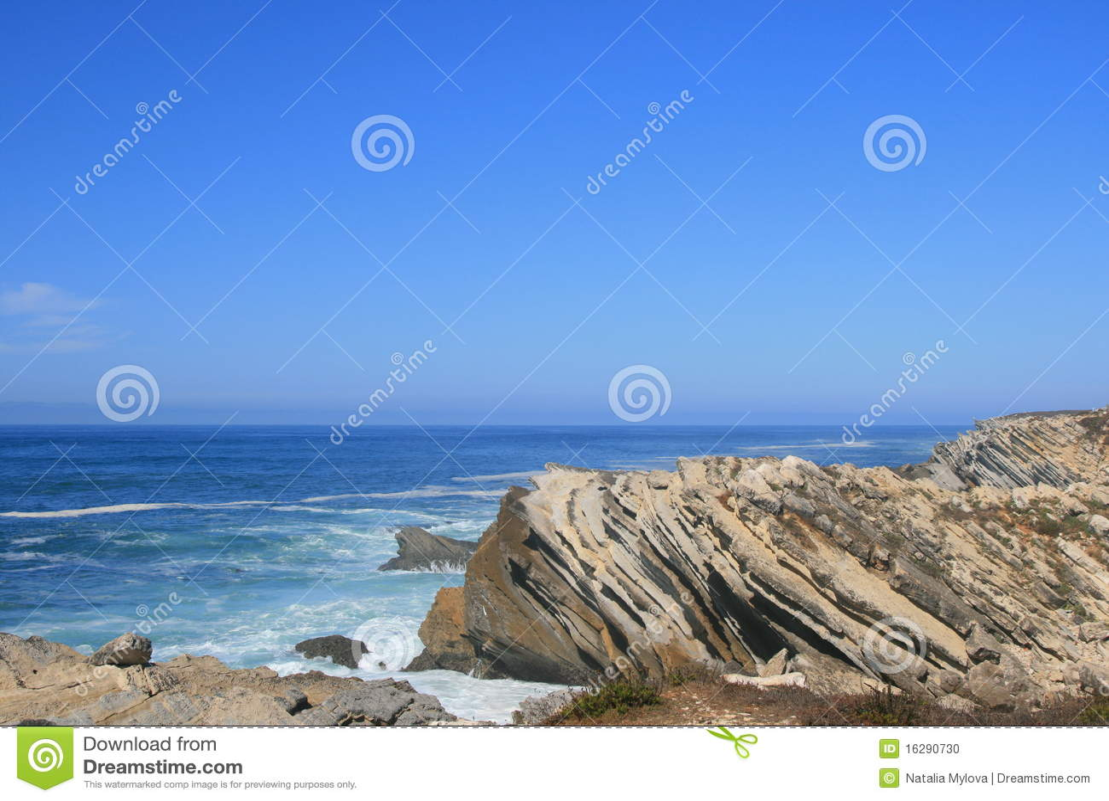 on stones ocean - photo #14