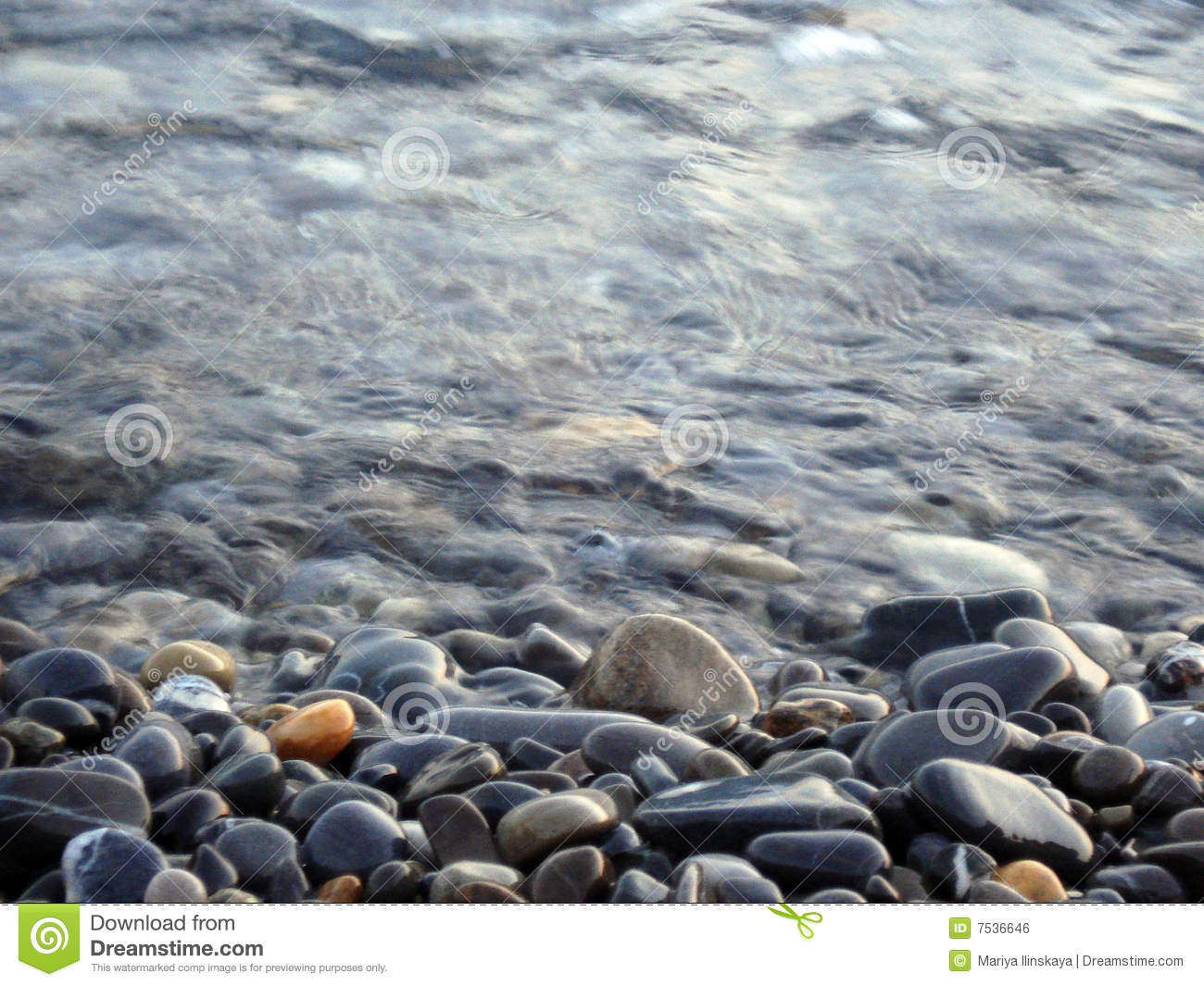 stones water royalty free stock image   image 7536646