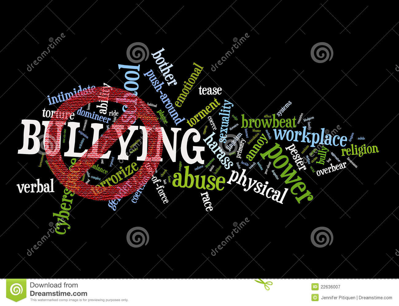 Stop Bullying Royalty Free Stock Photography - Image: 22636007