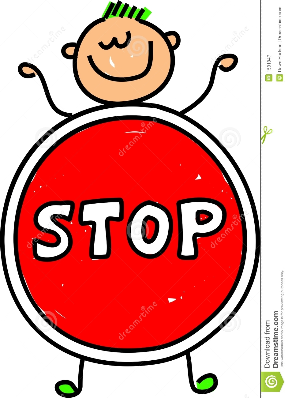 Stop Kid Royalty Free Stock Photography Image 1591847
