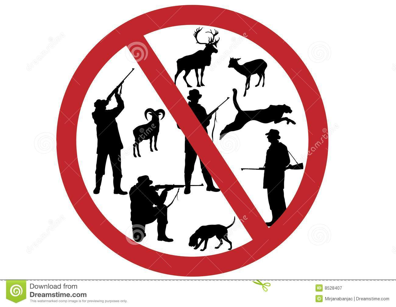 stop kill animals royalty free stock photography image free wildlife clipart black white free wildlife clipart