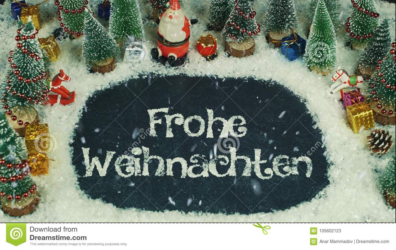 Animation Frohe Weihnachten.Stop Motion Animation Of Frohe Weihnachten German In English Merry