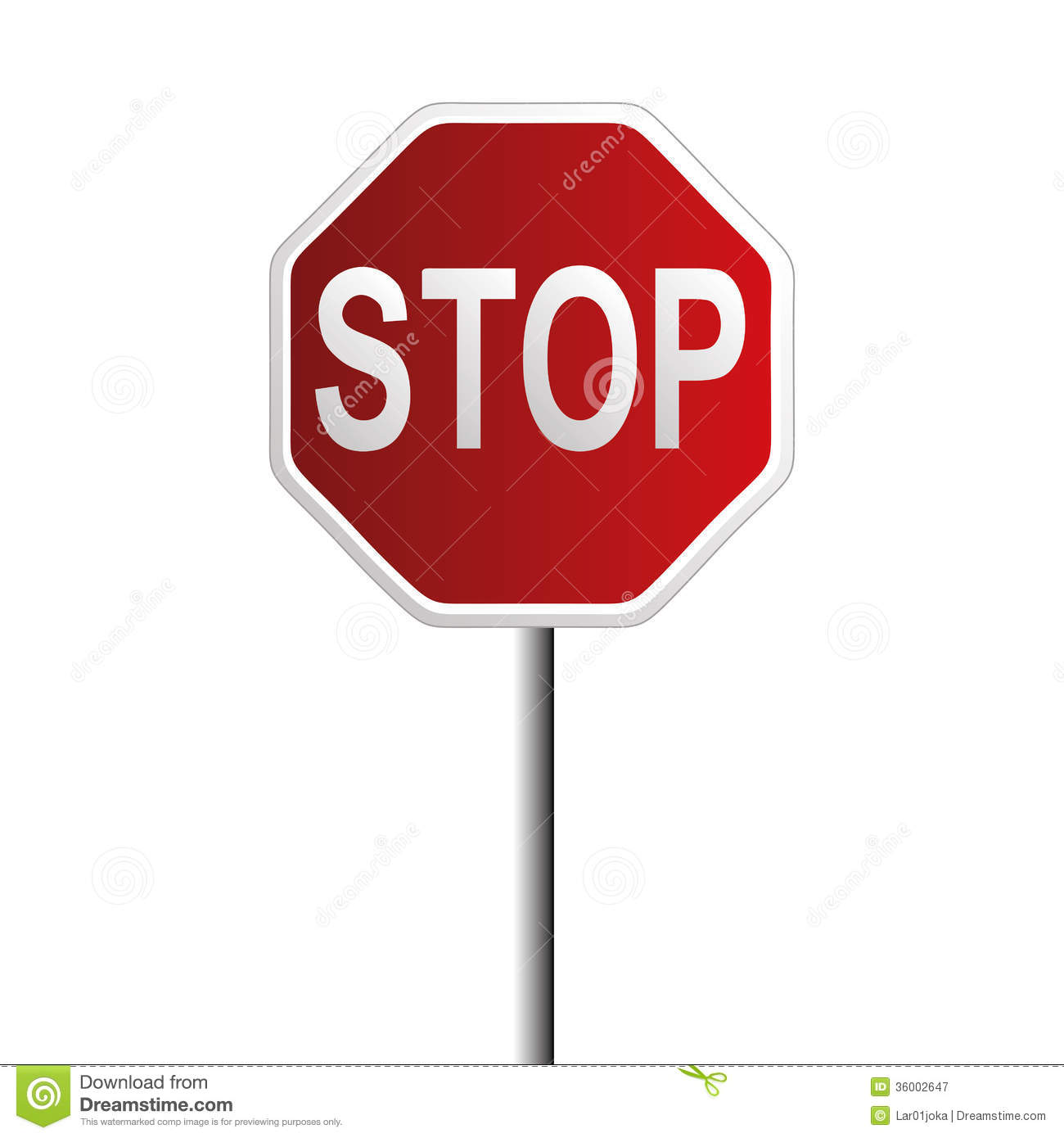 Stop Signal Royalty Free Stock Photography Image 36002647