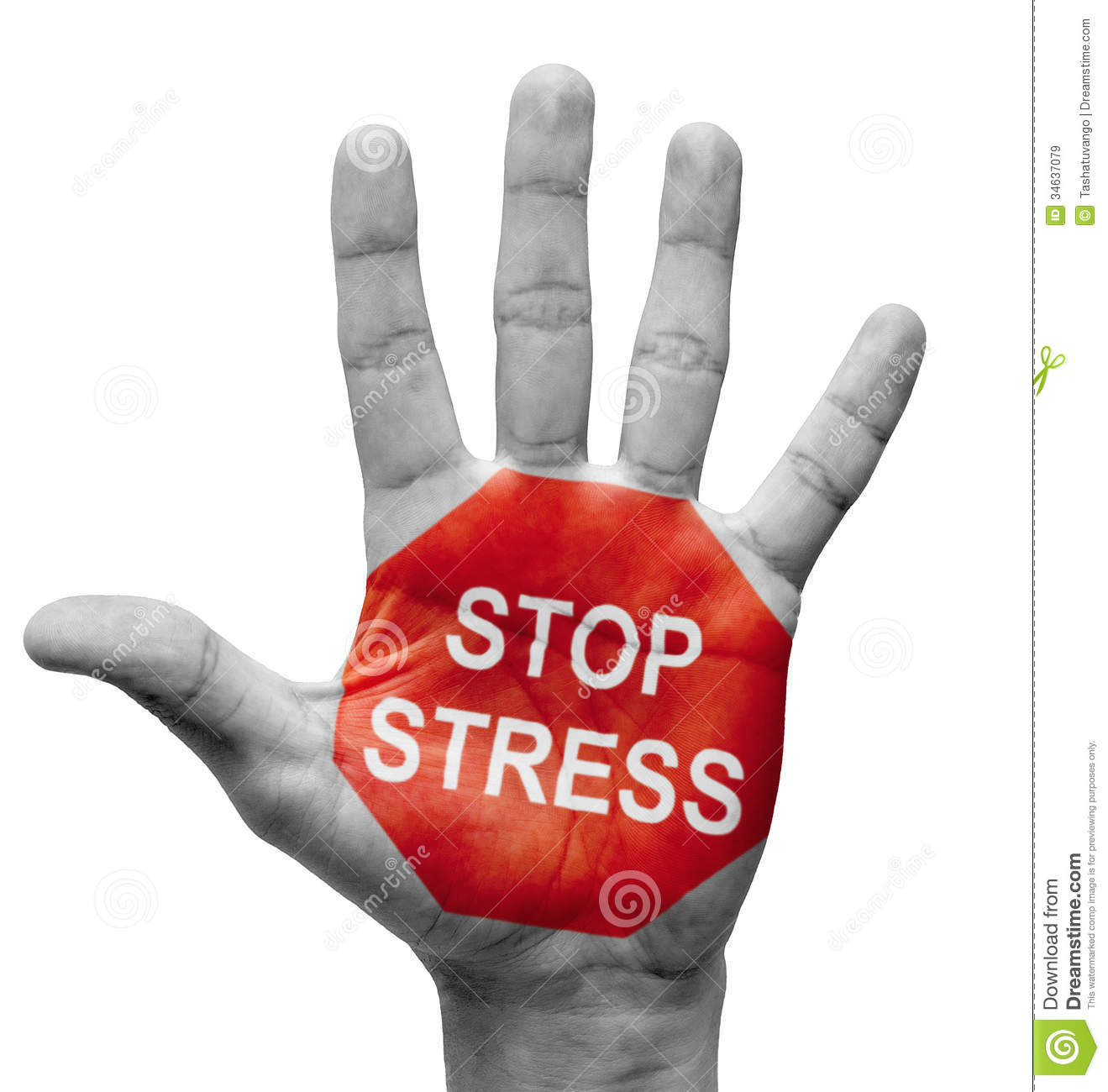Stop stress concept royalty free stock images image 34637079