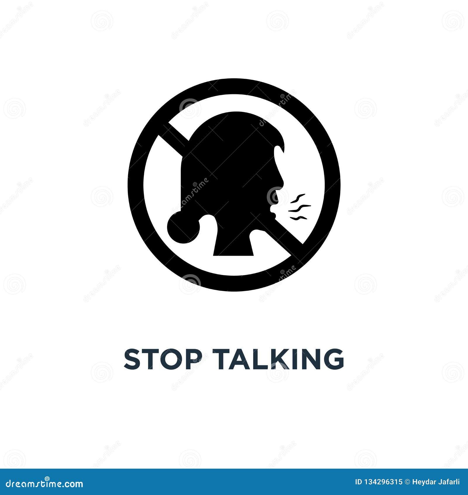 Silent Please Vector Illustration | CartoonDealer.com ...