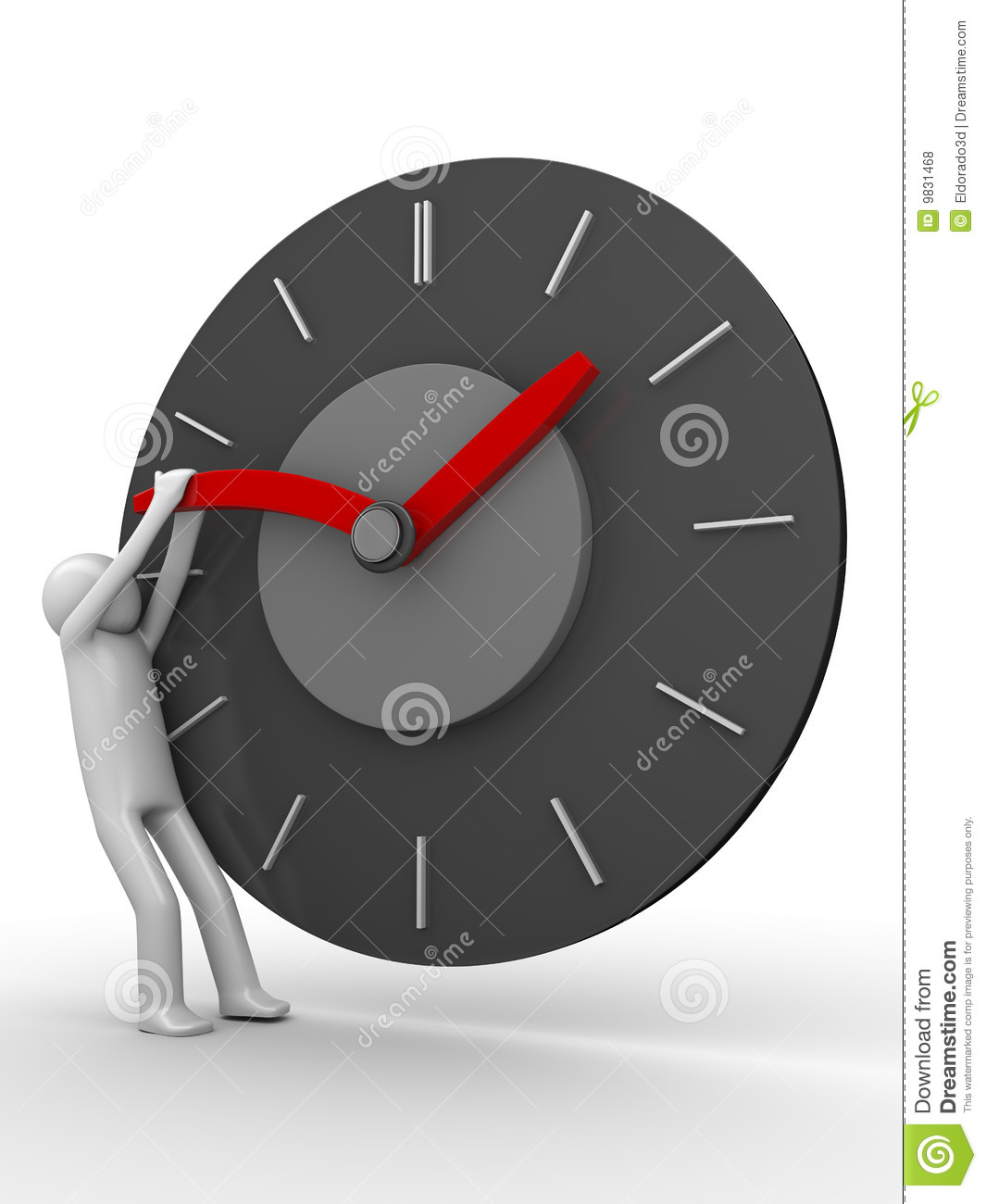 Stop The Time  Royalty Free Stock Photos