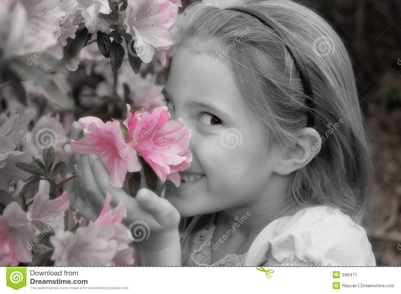 Stop to smell the flowers