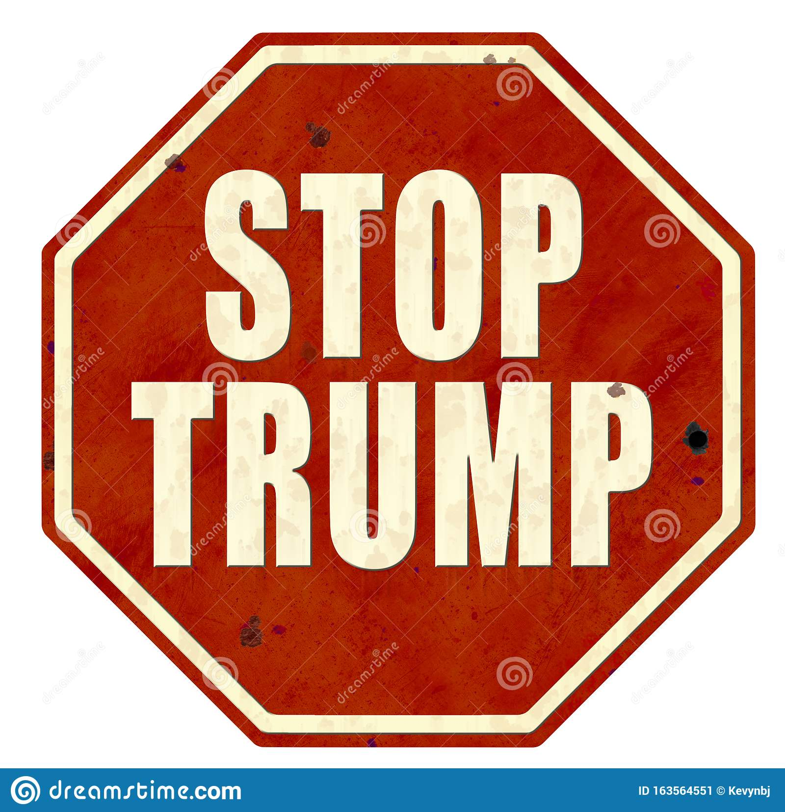 Stop Trump Impeach Trump Sign Logo Art ...