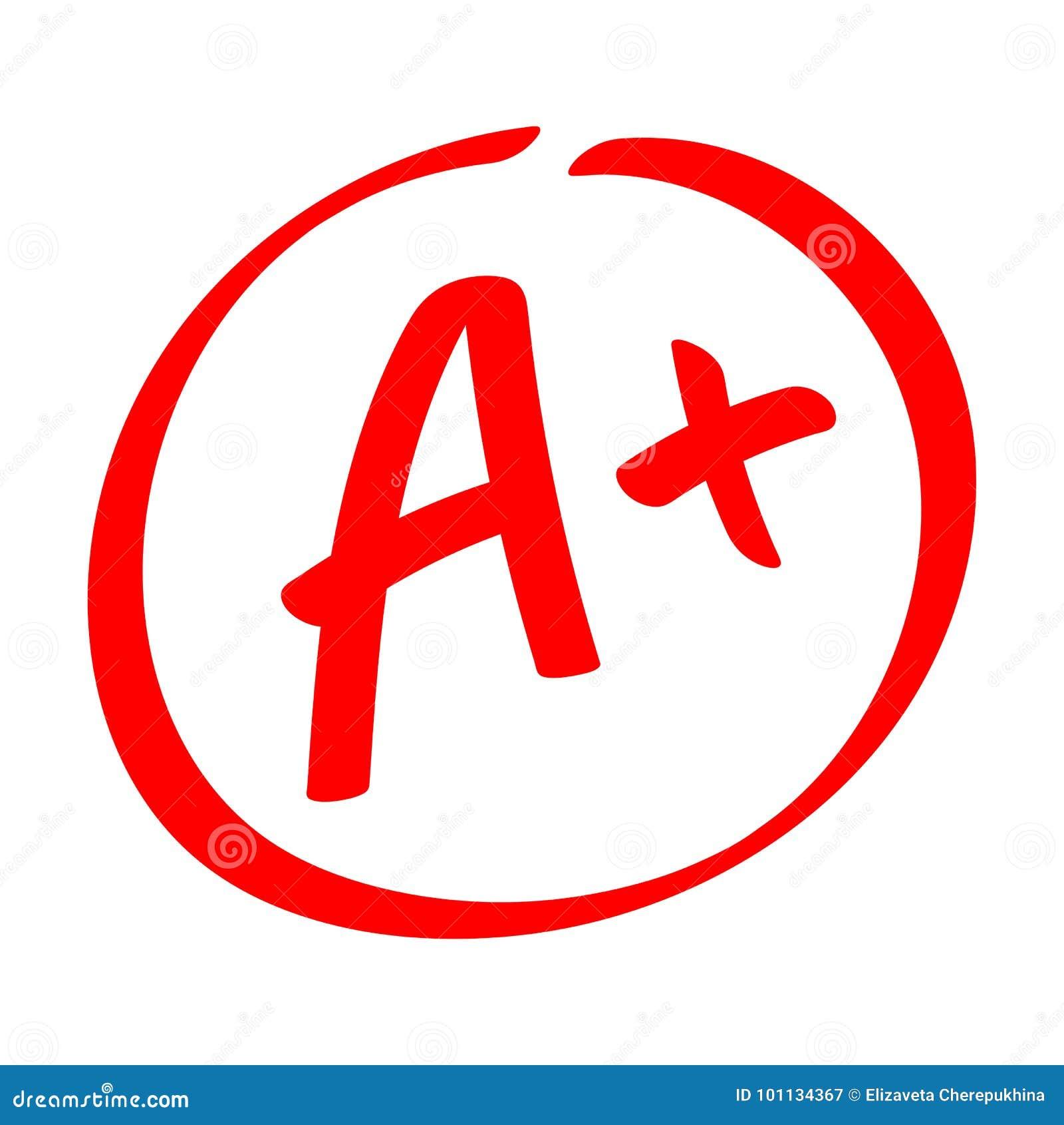 Stopnia rezultat - A Wręcza patroszonego wektorowego stopień z plus w okręgu