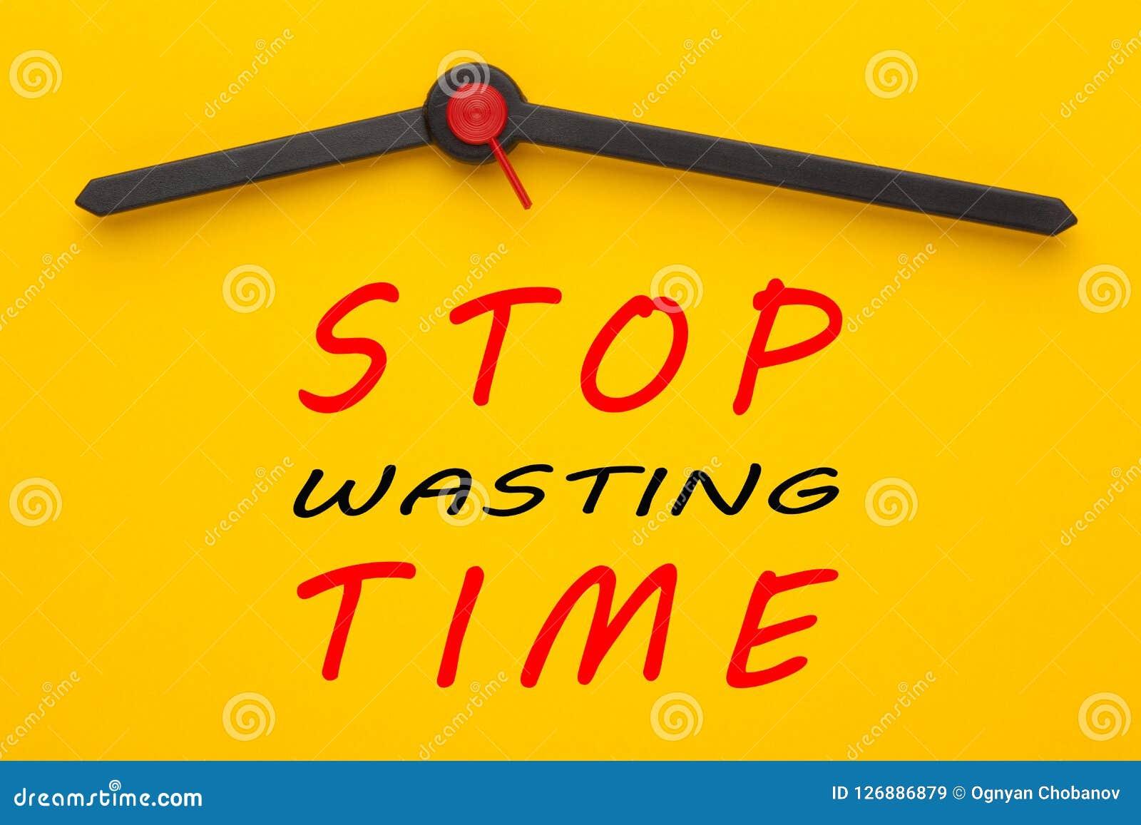 Stoppa tärande tid